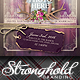Vintage Lace Save The Date Flyer Template - GraphicRiver Item for Sale