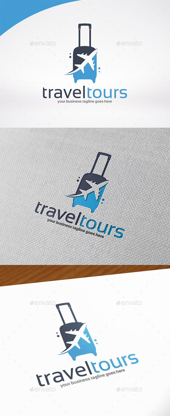 Travel & Tours Logo Template - Symbols Logo Templates