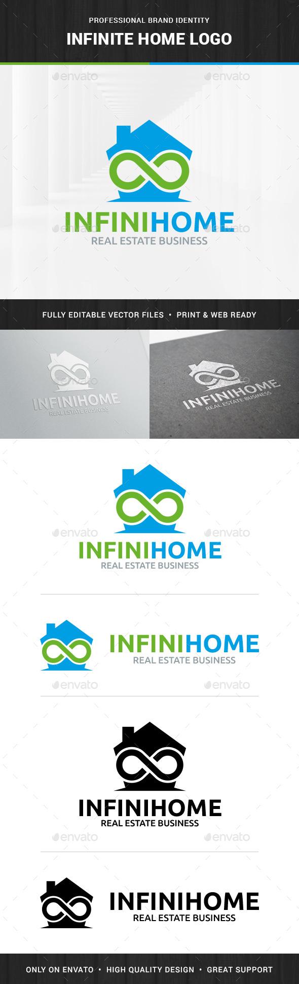 Infinite Home Logo Template - Symbols Logo Templates