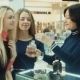Girls Chooses Perfume In Mall - VideoHive Item for Sale