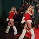 Dancing Girls in Santa Claus Costumes - VideoHive Item for Sale
