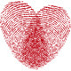 Fingerprint Heart - GraphicRiver Item for Sale