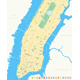 New York Map - Lower and Mid Manhattan. - GraphicRiver Item for Sale