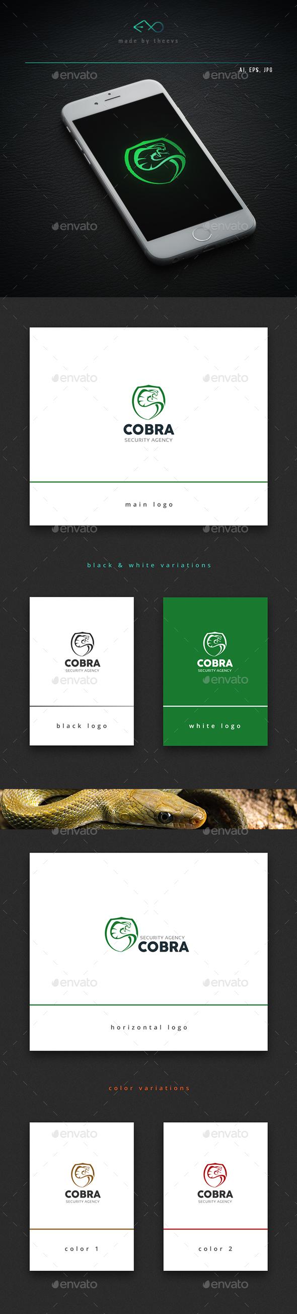 Cobra - Animals Logo Templates