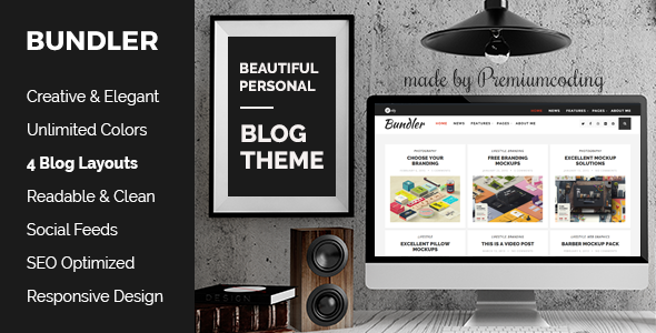 Bundler – WordPress Blog Theme