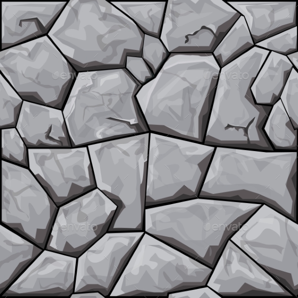 Stone Seamless Pattern - Patterns Decorative