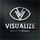 Visualize V Letter Logo - GraphicRiver Item for Sale