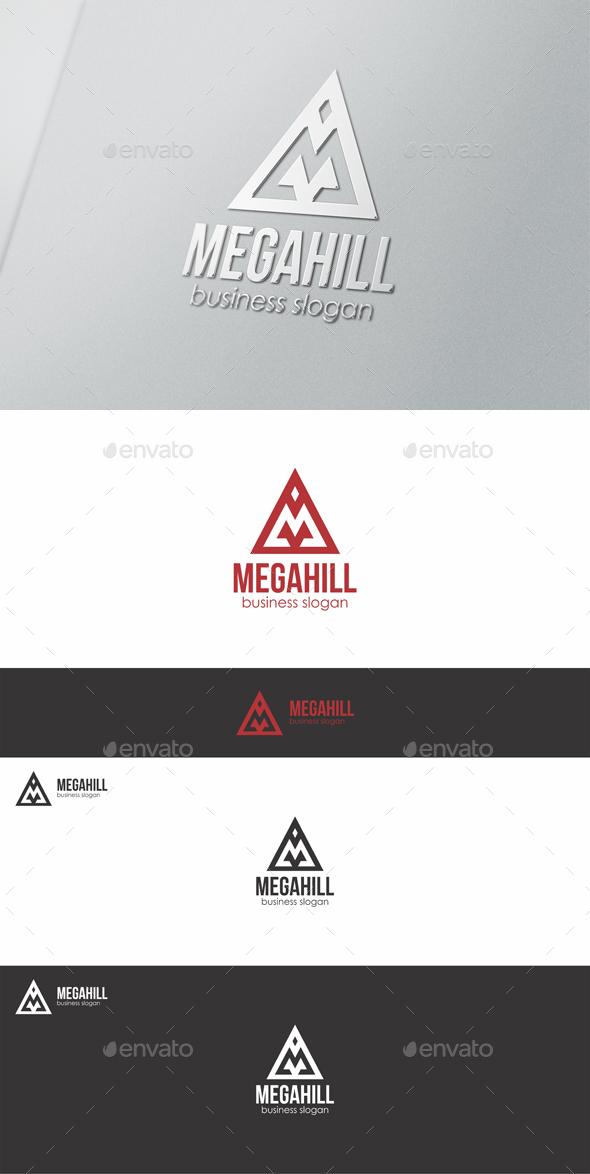 Mega Hill M Logo