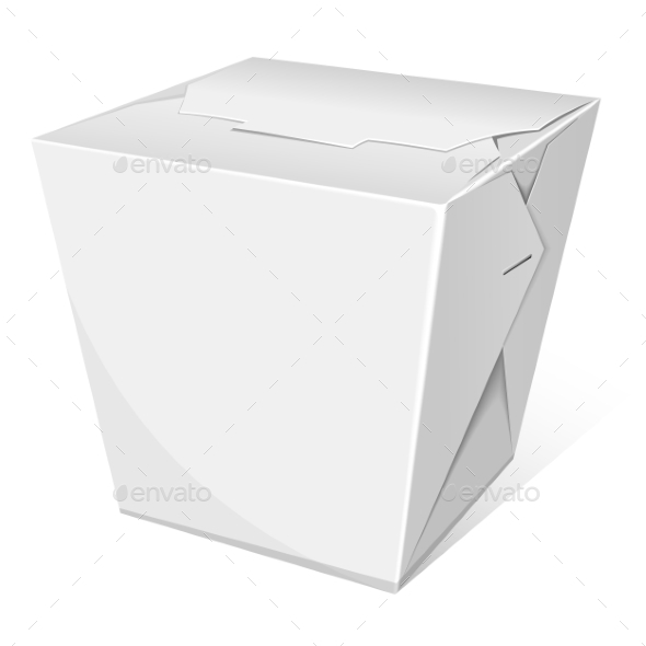 Noodle Box - Food Objects