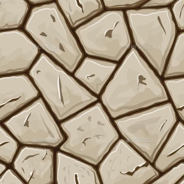 Stone Seamless Pattern - Patterns Decorative