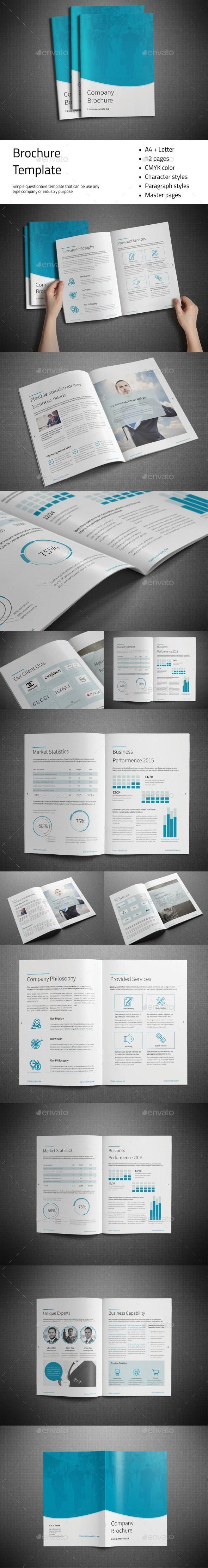 Company Brochure - Brochures Print Templates