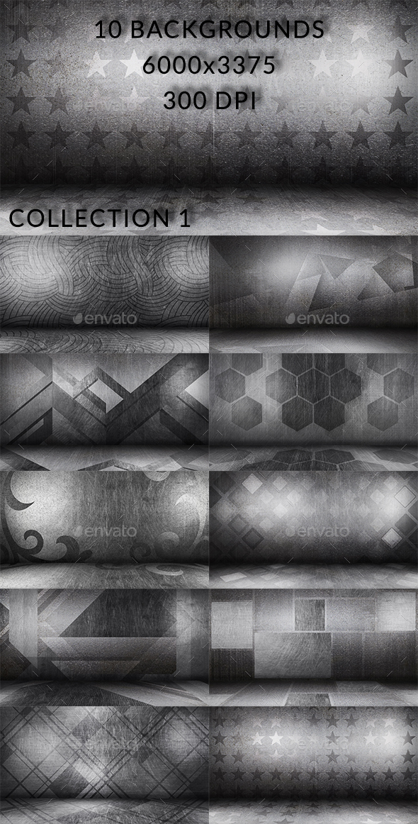 Scratched Floor Collection 1 - Backgrounds Graphics