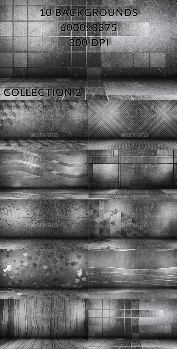 Scratched Floor Collection 2 - Backgrounds Graphics