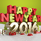 Happy New Year 2016 Gold - GraphicRiver Item for Sale