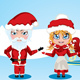 Santa and Mrs Claus - GraphicRiver Item for Sale