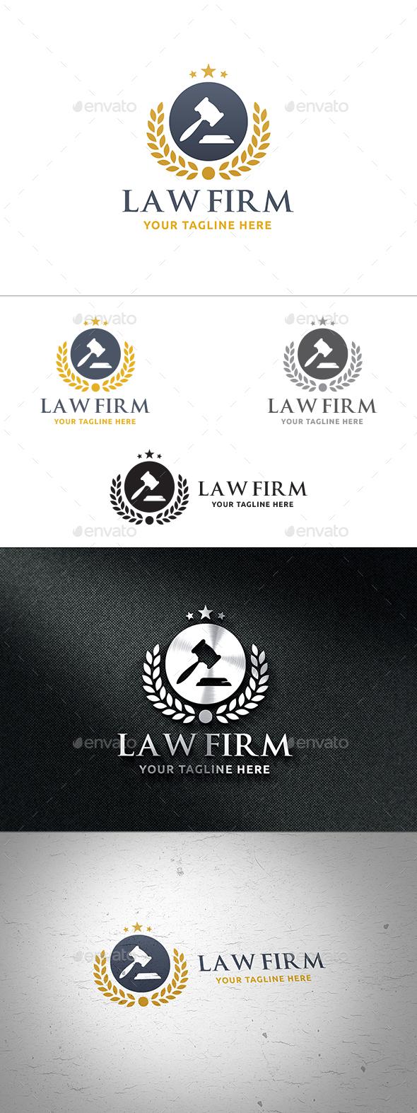 Law Firm Logo - Symbols Logo Templates