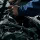 Mechanic Repairing Car Engine - VideoHive Item for Sale