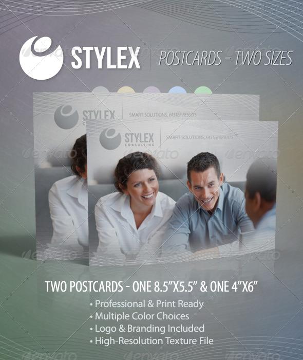 Stylex - Postcards - Miscellaneous Print Templates