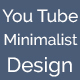 Minimalist design YouTube channel ART - GraphicRiver Item for Sale