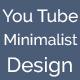 Minimalist design YouTube channel ART - GraphicRiver Item for Sale