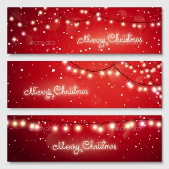 Banners Set - Christmas Seasons/Holidays