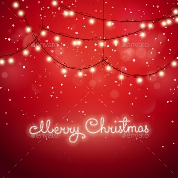 Abstract Festive Background - Christmas Seasons/Holidays