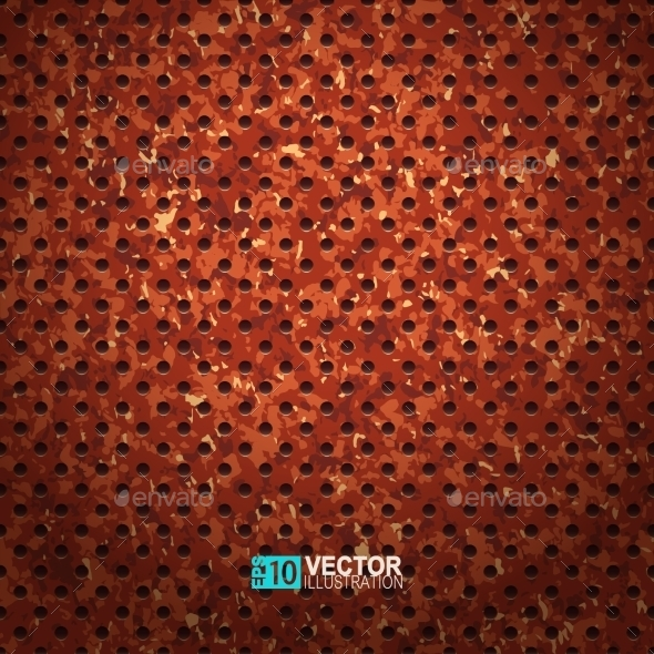 Rusty Metal Texture - Patterns Decorative