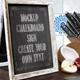 Chalkboard Sign Menu - Food - GraphicRiver Item for Sale