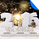 New Year's Eve Extravaganza Flyer Template