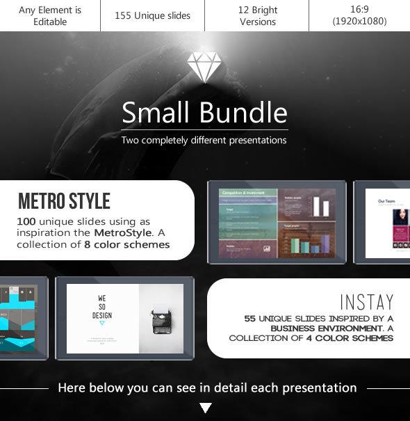 Small Bundle PTT 3 - PowerPoint Templates Presentation Templates