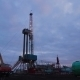 Oil Drilling Rig Evening - VideoHive Item for Sale