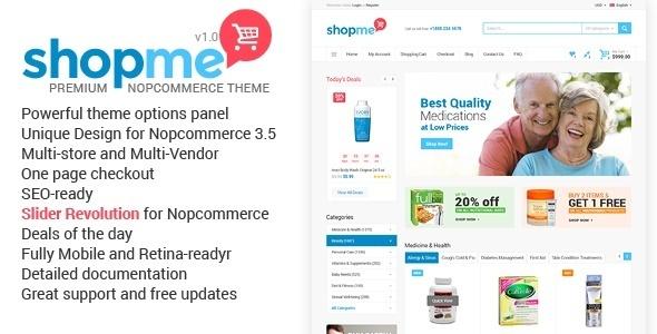 ShopMe - NopCommerce Theme - Miscellaneous eCommerce