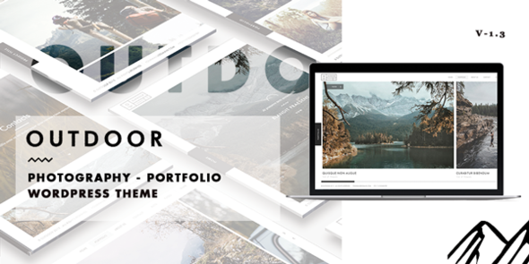 Outdoor – Creative Photography/Portfolio WP Theme