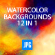 Watercolour Designer Backgrounds V.2 - GraphicRiver Item for Sale
