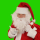Christmas Santa Claus sending Kisses - VideoHive Item for Sale