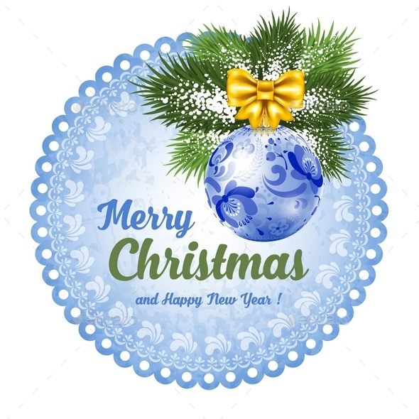 Christmas Label - Christmas Seasons/Holidays