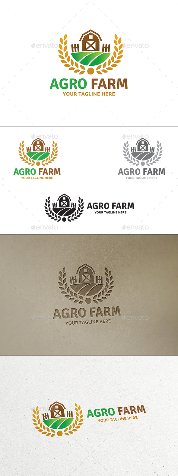 Agro Farm Logo - Nature Logo Templates
