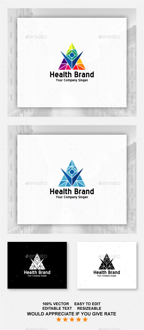 Health Brand - Abstract Logo Templates