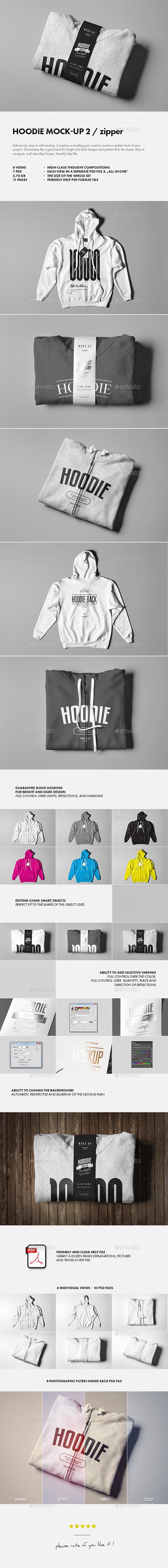 Hoodie Mock-up 2 - Apparel Product Mock-Ups