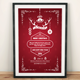 Deer Horn Christmas Invitation - GraphicRiver Item for Sale