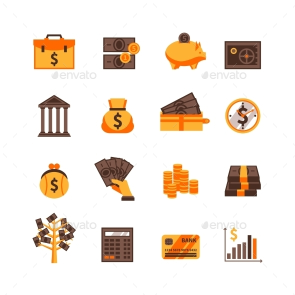 Finance Icons Set - Business Icons