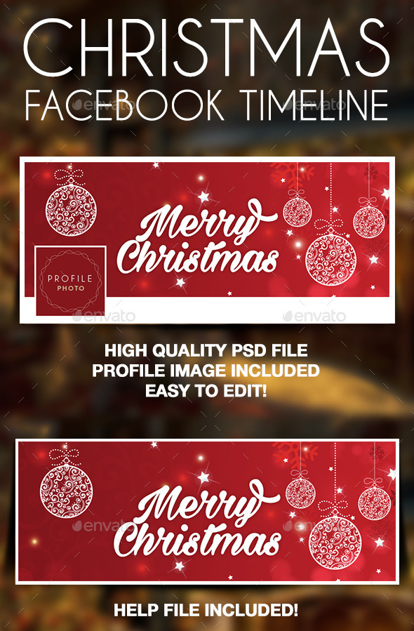 Christmas Facebook Timeline Cover Design - Facebook Timeline Covers Social Media