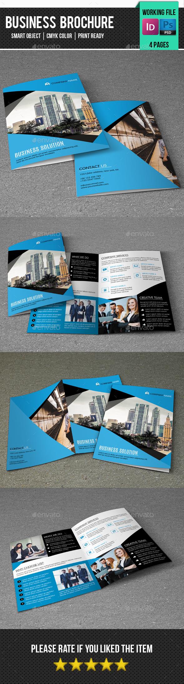 Corporate Bifold Brochure-V327 - Corporate Brochures