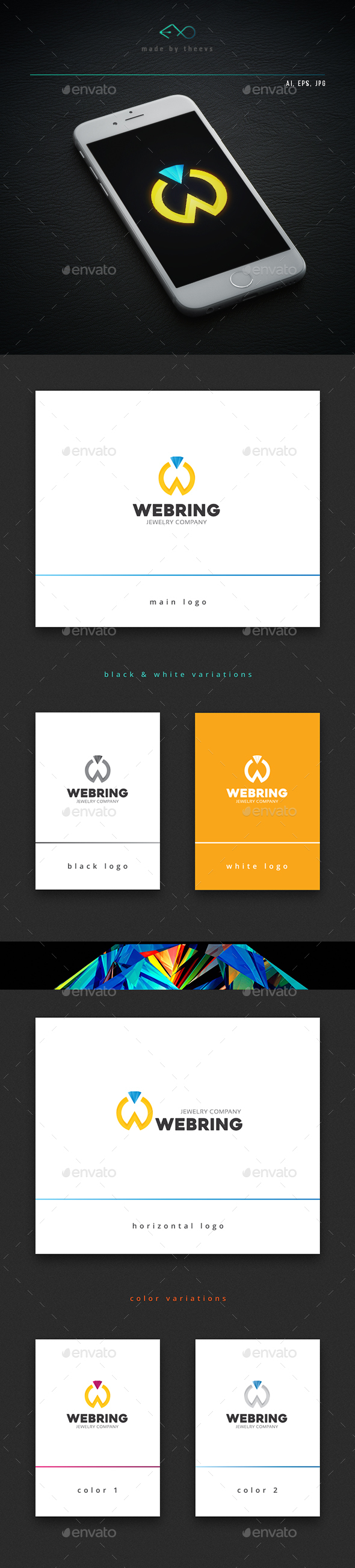 Webring - Objects Logo Templates