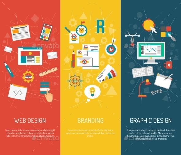 Designer Banner Set - Computers Technology