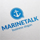 Marine Talk Logo - GraphicRiver Item for Sale