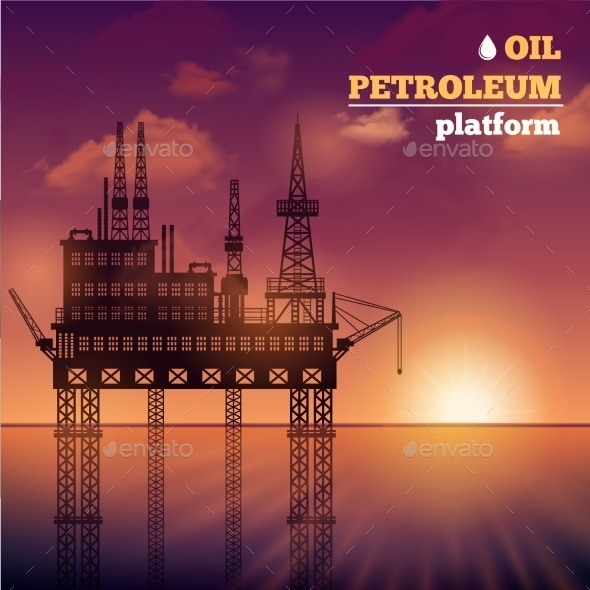 Oil Petroleum Platform - Industries Business