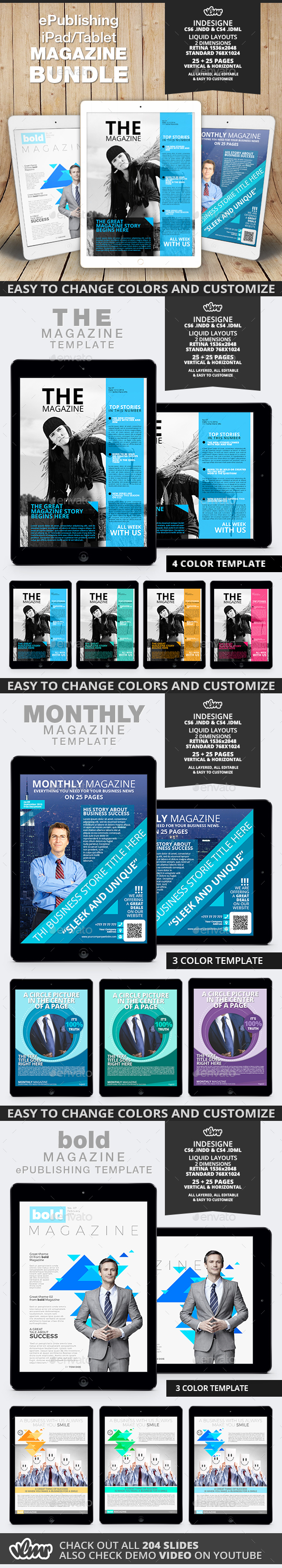 ePublishing iPad / Tablet Magazine Bundle - Digital Magazines ePublishing
