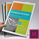 Company Portfolio Brochure Catalog A4 - GraphicRiver Item for Sale