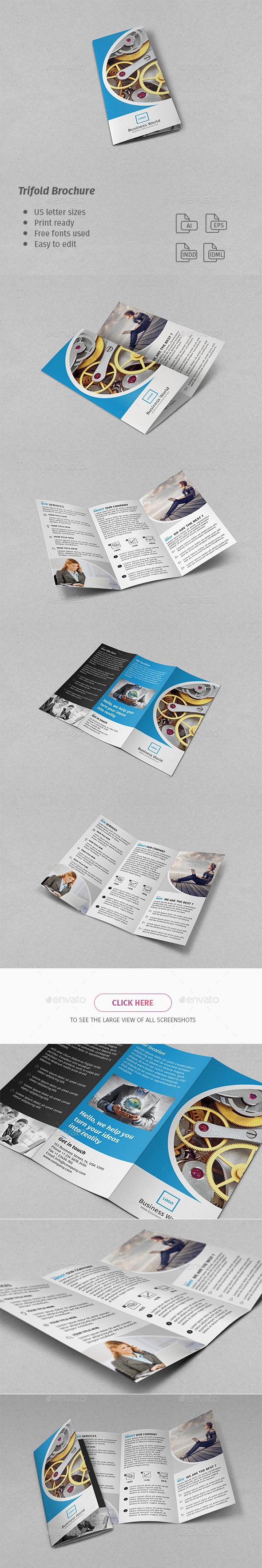 Corporate Trifold Brochure - Corporate Brochures